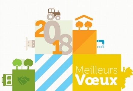 La Safer Occitanie vous adresse ses meilleurs voeux pour l'année 2018