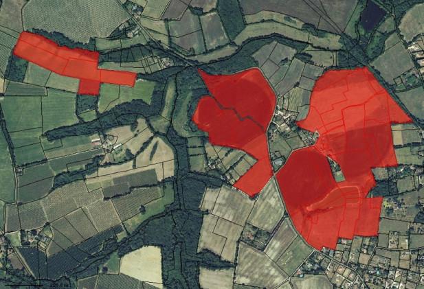 Propriété avec 63 ha de terres agricoles irrigables