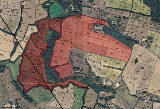 Proche EAUZE - 39 ha de terres et landes